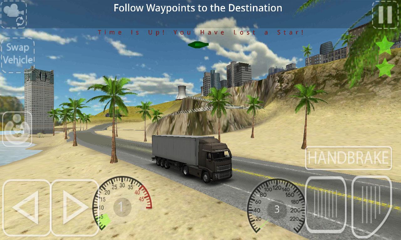 Delivery Simulator Volvo Truck