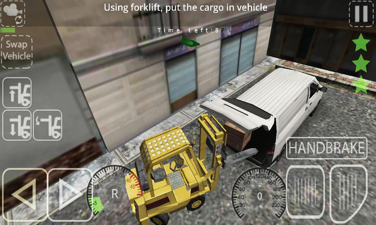Delivery Simulator Forklift