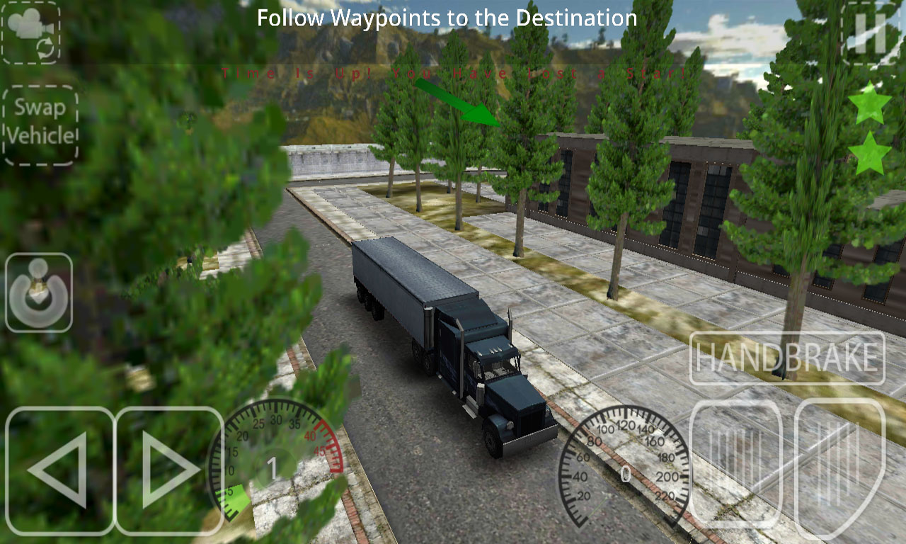 Delivery Simulator Truck