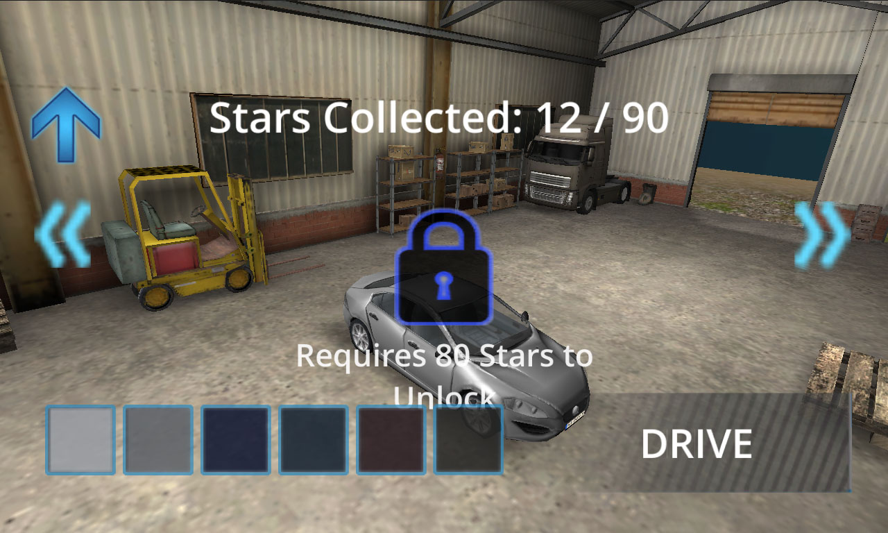 Delivery Simulator Select Car