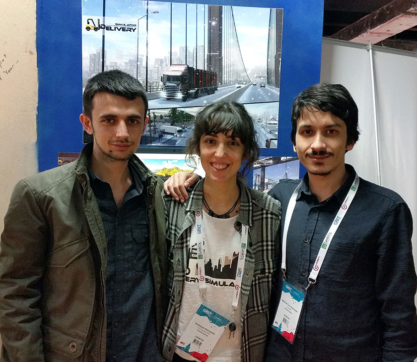 Delivery Simulator Gaming Istanbul 2016