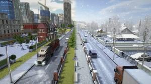 Delivery Simulator Snow
