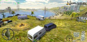 Delivery Simulator Camping Caravan