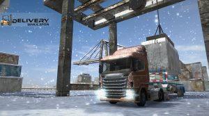 Delivery Simulator Crane