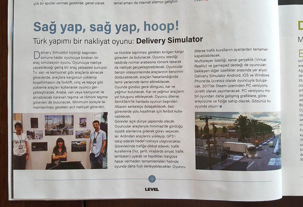 Delivery Simulator Simula Games