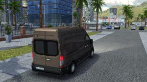 Delivery Simulator Van Drive