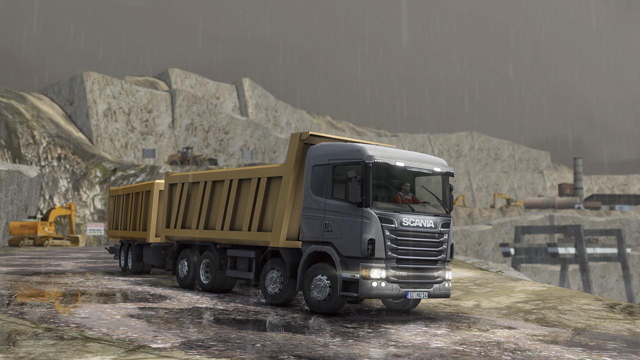 Truck & Logistics Simulator Dumper Truck